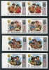 GRENADA - Scott 409-12 New to Market - Grenada Boy Scouts Imperf Pair. Error Sheets complete imperf. Only one set of sheets discovered.  Another stamp from Herrick Stamp Company