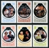 GUERNSEY - Scott NEW ISSUE Queen Elizabeth II 70th Wedding Anniversary (P/3 @ Face) (6)  Another stamp from Herrick Stamp Company