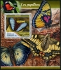 GUINEA - Scott NEW ISSUE Butterflies Souvenir Sheet (P/1 @ Face) (1)  Another stamp from Herrick Stamp Company
