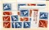 JAPAN - Scott 549-50 1951 Sport Pair (550A) Wholesale Lot of 10 pairs.  Another stamp from Herrick Stamp Company