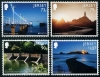 JERSEY - Scott NEW ISSUE EUROPA 2018 Bridges (One value Lighthouse) (P/3 @ Face) (4)  Another stamp from Herrick Stamp Company