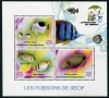 MADAGASCAR - Fish Sheetlet of 3 Different (1)