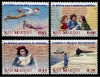 SAN MARINO - Scott 1644-47 History of Mail Service. 20 Sets  Another stamp from Herrick Stamp Company