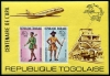 TOGO - Scott C223A U.P.U. Centenary Wholesale Lot of 3 Rouletted Souvenir Sheets. Scott Retail $120.00  Another stamp from Herrick Stamp Company