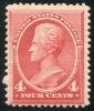 UNITED STATES - Scott 215 Fine and fresh 4 cent 1888  Another stamp from Herrick Stamp Company