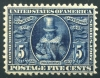 UNITED STATES - Scott 330 Well Centered Jamestown Issue  Another stamp from Herrick Stamp Company